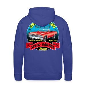 vintage us street car - Men's Premium Hoodie