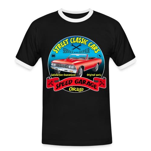 vintage us street car - Men's Ringer Shirt