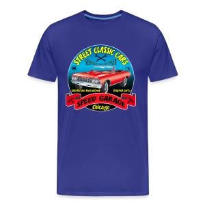 vintage us street car - Men's Premium T-Shirt