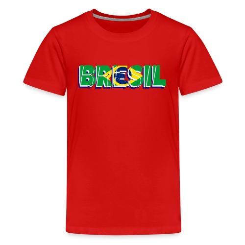 T shirt ado brésil - T-shirt Premium Ado
