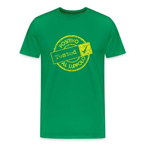 Positivo al luppolo YELLOW - Maglietta Premium da uomo