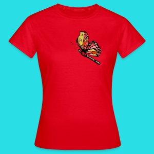 Frauen T- Shirt Schmetterling - Frauen T-Shirt