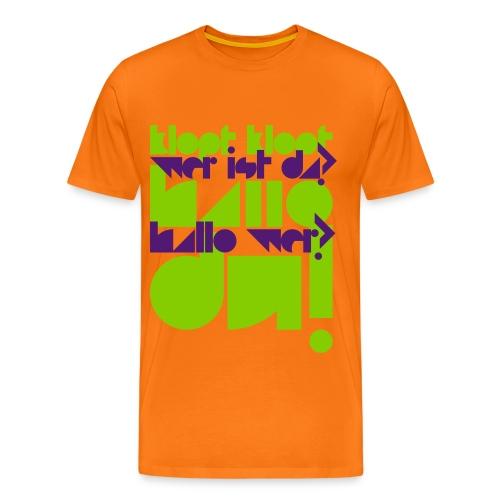 KLOPF KLOPF / Shirt / Herren - Männer Premium T-Shirt