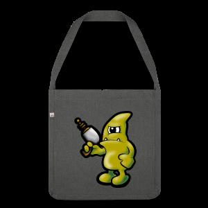 Alien-Bag - Schultertasche aus Recycling-Material