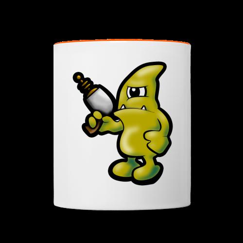 Alien-Mug - Tasse zweifarbig