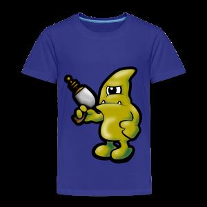 Grumpy Alien - Kinder Premium T-Shirt