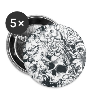 Badges - Des Roses et des Souris - Badge grand 56 mm