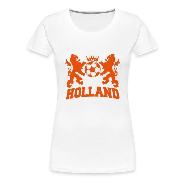 Favoriete Leuke-Spreuken | Nederlandse support Dames Shirt - Vrouwen Premium &QG36