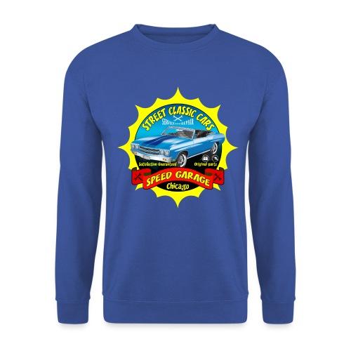 vintage us street car - Men's Sweatshirt