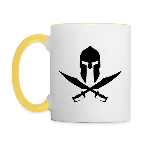 LIMITED EDITION 'lewisisawarrior' MUG - Contrasting Mug