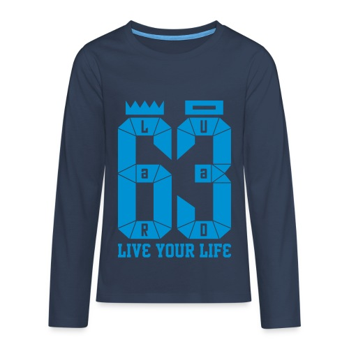 10 - Teenagers' Premium Longsleeve Shirt