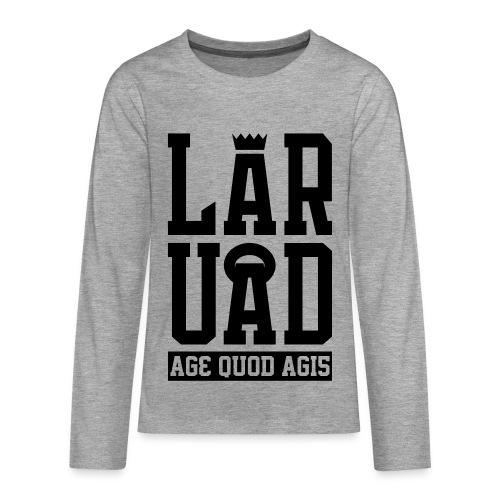 11 - T-shirt manches longues Premium Ado