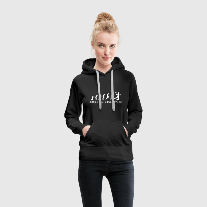 Evolution Handball Pullover & Hoodies - Frauen Premium Hoodie