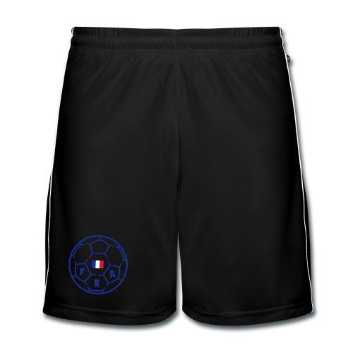 Short football Homme BLANC - FRANCE v3 - Short de football Homme