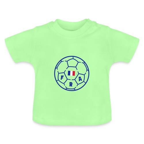 T-shirt bébé VERT POMME - Foot FRANCE v3 - T-shirt Bébé