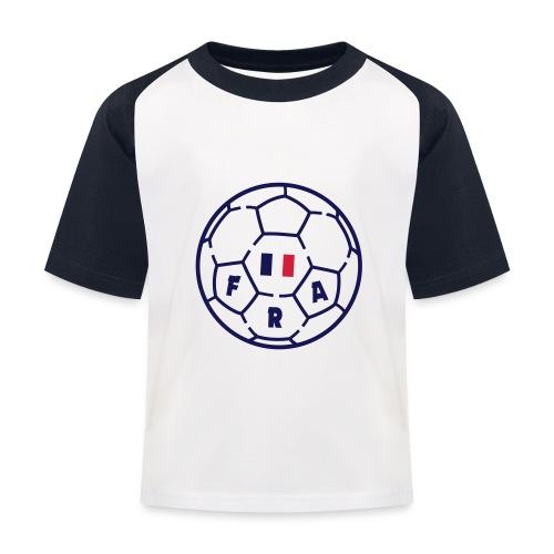 T-shirt baseball Enfant - Foot FRANCE v3 - T-shirt baseball Enfant