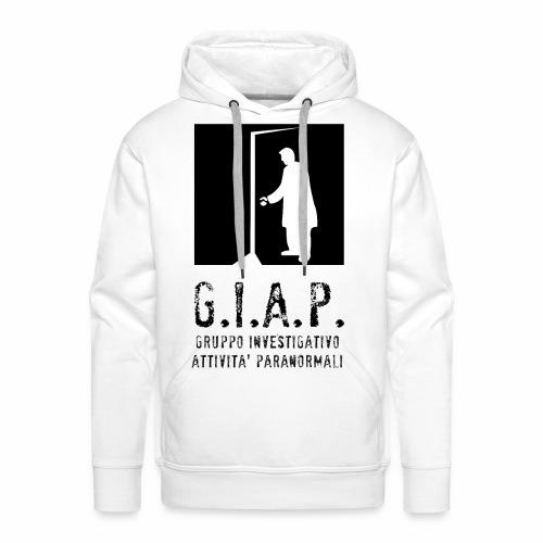 Felpa uomo GIAP front - Felpa con cappuccio premium da uomo