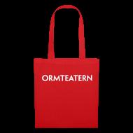 Väskor & ryggsäckar ~ Tygväska ~ Tygkasse med Ormteatern-tryck
