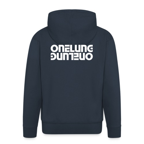 Men's Mirrored ONELUNG Hoodie - Men's Premium Hooded Jacket
