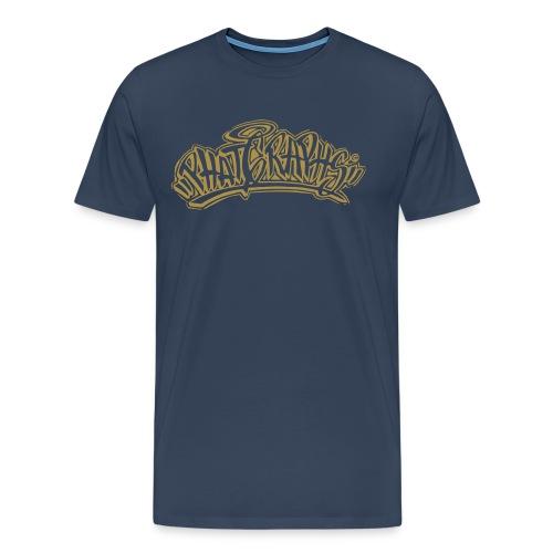 PHAT GRAPHS Gold - Männer Premium T-Shirt