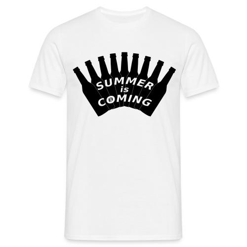 Summer is coming (logo noir) - T-shirt Homme