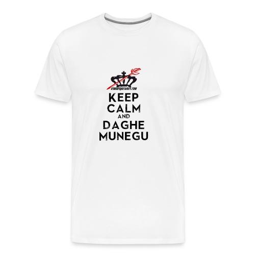 Tshirt Keep Calm Munegu - T-shirt Premium Homme