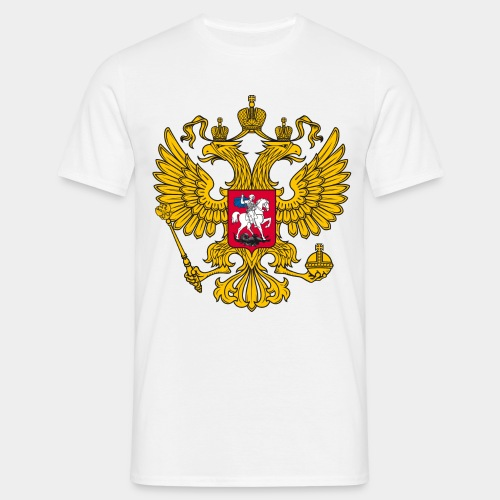 Герб России - Männer T-Shirt