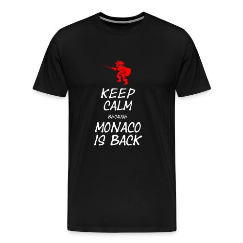 Tshirt Keep Calm is back - T-shirt Premium Homme