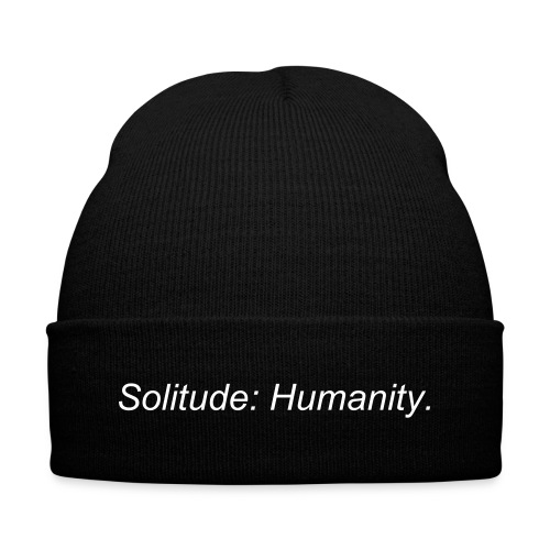 Solitude: Humanity Classic Beanie - Winter Hat