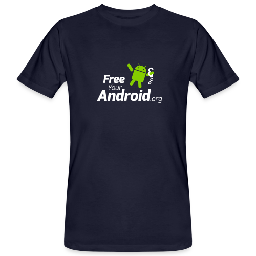 FreeYourAndroid.org - Männer Bio-T-Shirt
