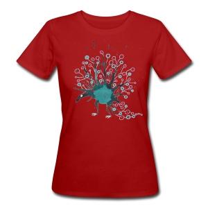 Blauling No. 7 - Frauen Bio-T-Shirt