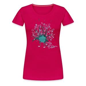 Blauling No. 7 - Frauen Premium T-Shirt