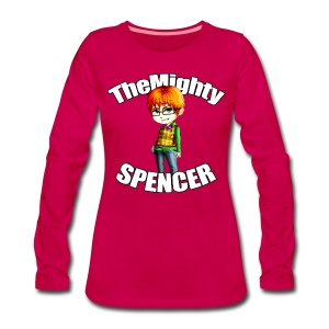 The Mighty Spencer W Long Sleeve - Women's Premium Longsleeve Shirt