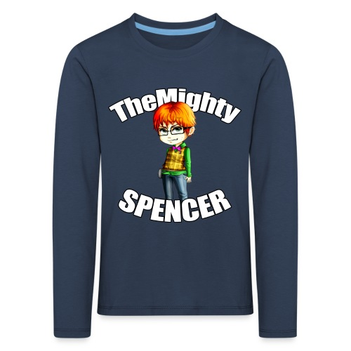 The Mighty Spencer K Long Sleeve - Kids' Premium Longsleeve Shirt