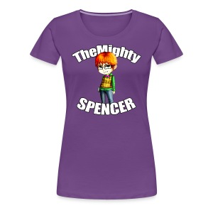 The Mighty Spencer - Women's Premium T-Shirt