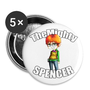 The Mighty Spencer - Buttons large 56 mm