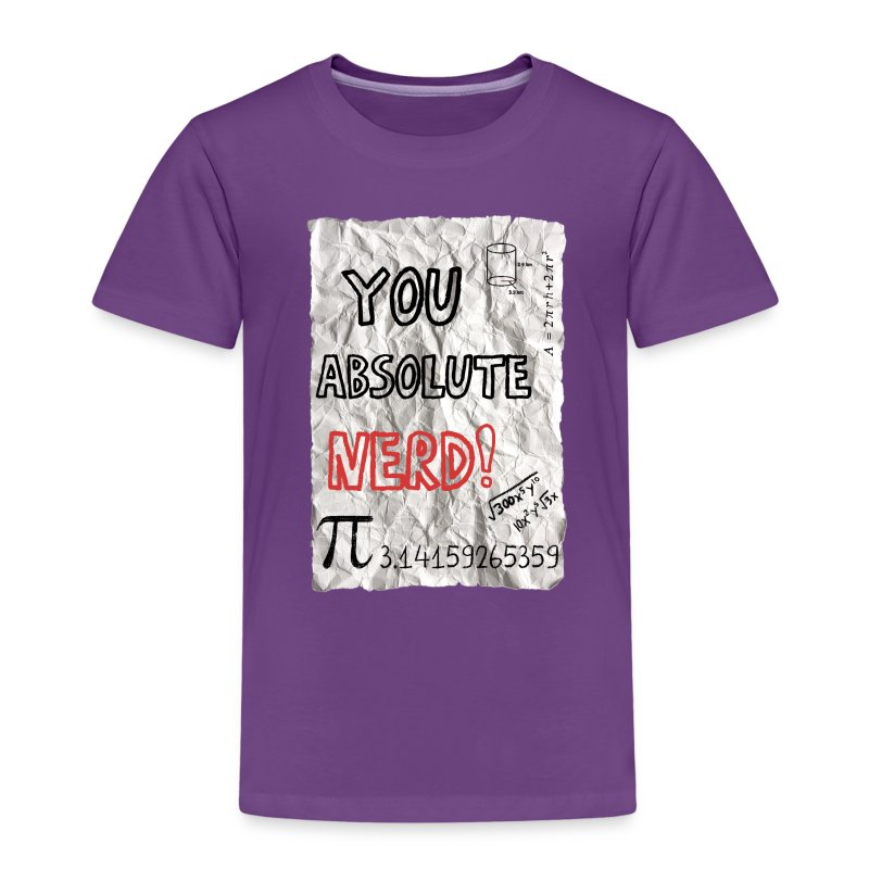 You Absolute Nerd - Kids' Premium T-Shirt