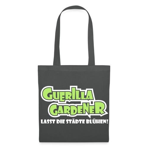 Guerilla Gardener Stofftasche - Stoffbeutel