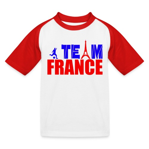 T shirt enfant team france - T-shirt baseball Enfant