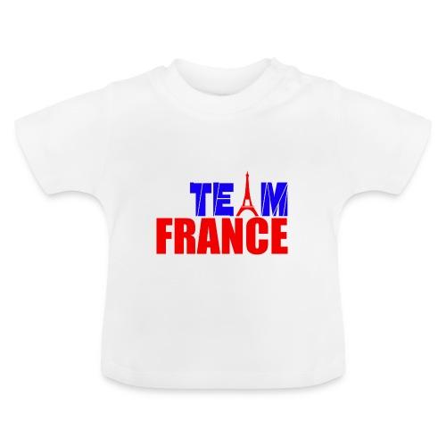 T shirt bébé team france - T-shirt Bébé