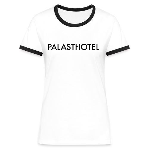 Palasthotel Konstrastshirt - Frauen Kontrast-T-Shirt
