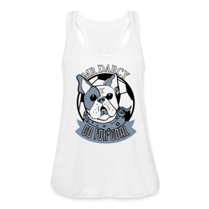 Mr Darcy GO FOR GOAL Damen Tanktop silbermetallic - Frauen Tank Top von Bella