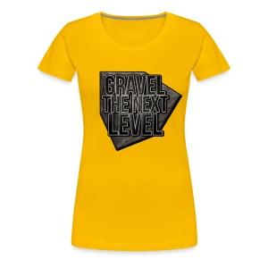 Gravel vrouwen - Vrouwen Premium T-shirt