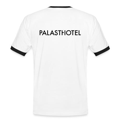 Palasthotel Kontrastshirt - Männer Kontrast-T-Shirt