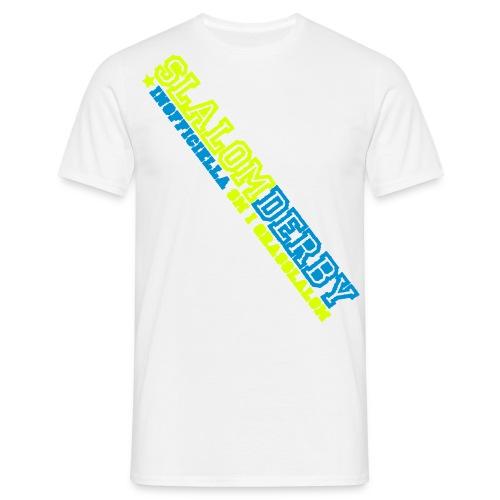T-shirt - Slalomderby (vit) - T-shirt herr