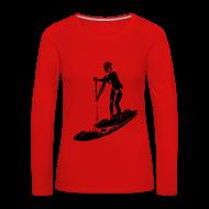 Manches longues ~ Tee shirt manches longues Premium Femme ~ Numéro de l'article 28904983