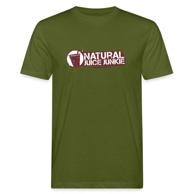 Natural Juice Junkie - Men's ORGANIC Cotton Tee
