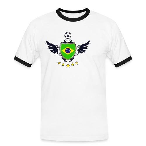 Brazil 2014 - T-shirt contrasté Homme