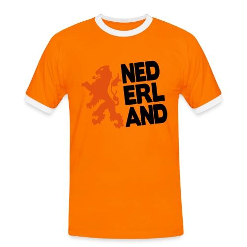 Oranje 2014 - T-shirt contrasté Homme