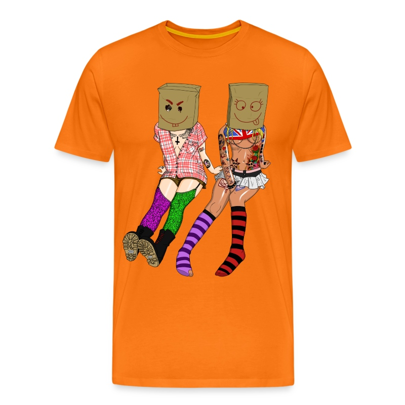 Brown Paper Bag Girls - Männer Premium T-Shirt